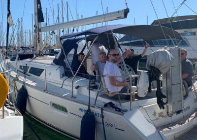 Sail boat rental Barcelona