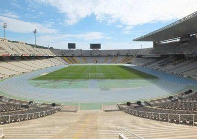 Tour of Olympic stadium barcelona